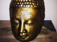 Buddha Head (Hollow for LED Light)