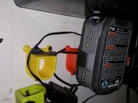 Ryobi 18v  battery wall mount