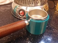 Tamping base for La Pavoni or ROK