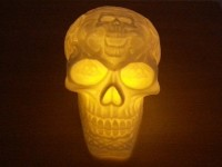 Celtic Skull LED Lamp (Hollow)