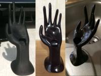 Hand ring holder (main porte-bague)