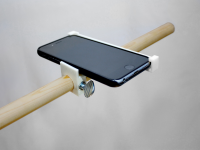 Adjustable Tripod Beam Arm for overhead Photography via iPhone