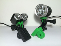 Adaptador GoPro para linternas Mountain Bike | GoPro adapter for Mountain Bike lights