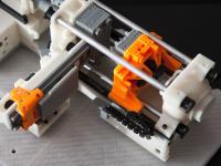300-Piece Miniature of Injection Molding Machine _ Part Ivory B