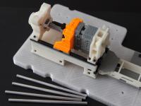 300-Piece Miniature of Injection Molding Machine _ Part black A