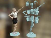 Freshy Girl 3D Printable Figure