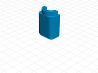 Tarot X8 frame LED 5mm holder (GLASS)