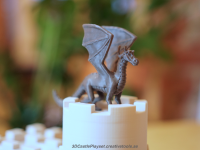 The Dragon for 3D-printable Modular Castle Playset