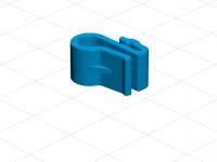 Filament clip for Zortrax spool