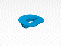 """Updated Base for adwecs' """"M300 spool holder for M200spool"""""""