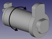 M200 Rotatable Spool Holder