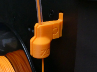 Orientable Filament holder with dust filter