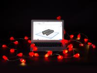 Valentine Lights Covers